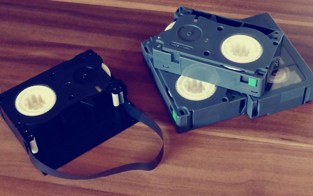 digitalizar las cintas de video antiguas
