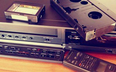 ¿Cómo pasar VHS a DVD?